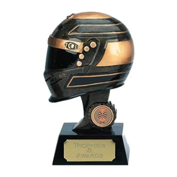 Racing Helmet Trophies