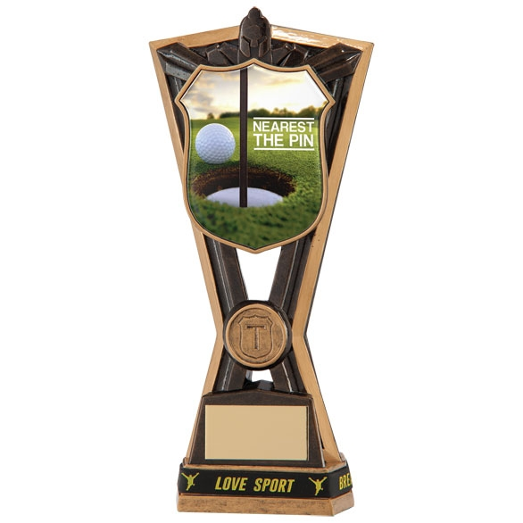 Nearest The Pin Golf Trophies