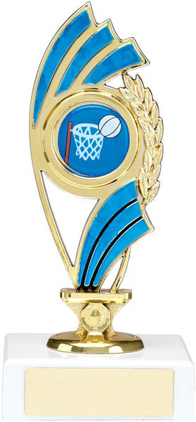 Gold and Blue Trophy