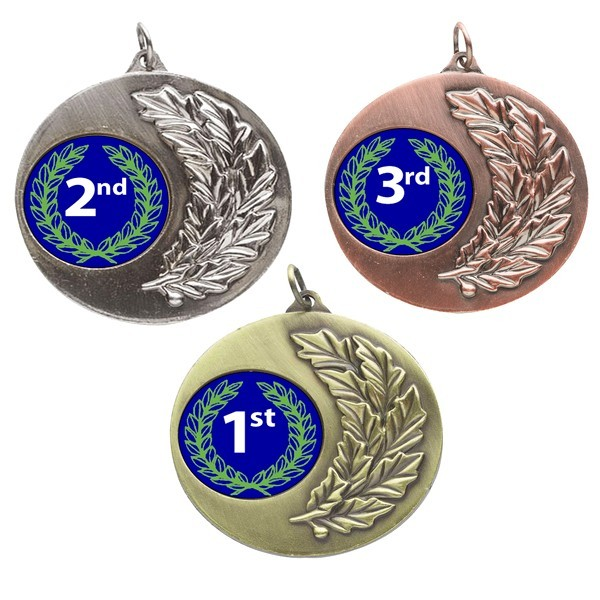 1st, 2nd, 3rd Laurel Medals