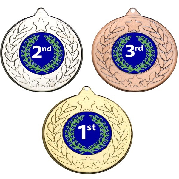 1st, 2nd, 3rd Stars and Wreath Medals