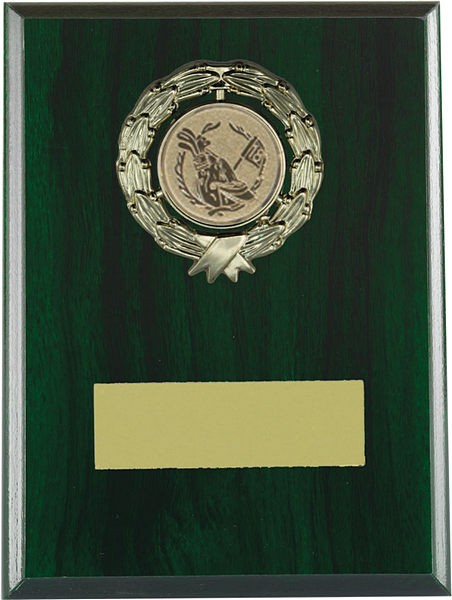 Green Wooden Plaque