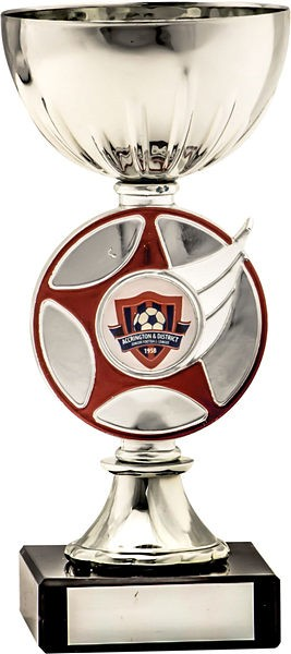 Silver Cup with Red Star Trophy