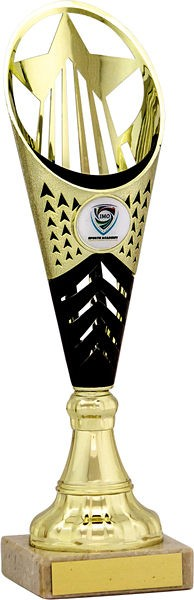 Gold and Black Flute Trophy