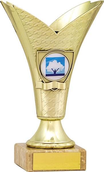 Gold Ribbon Flute Trophy