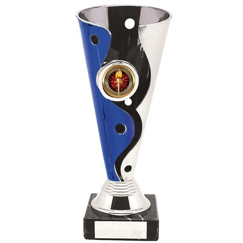 Carnival Silver/Purple Trophy