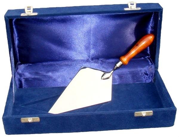 Nickel Plated Trowel in Presentation Case