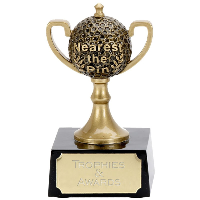 Golf Nearest The Pin Mini Cup