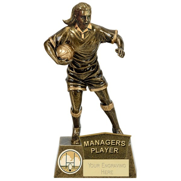 PINNACLE Female Rugby Managers Player