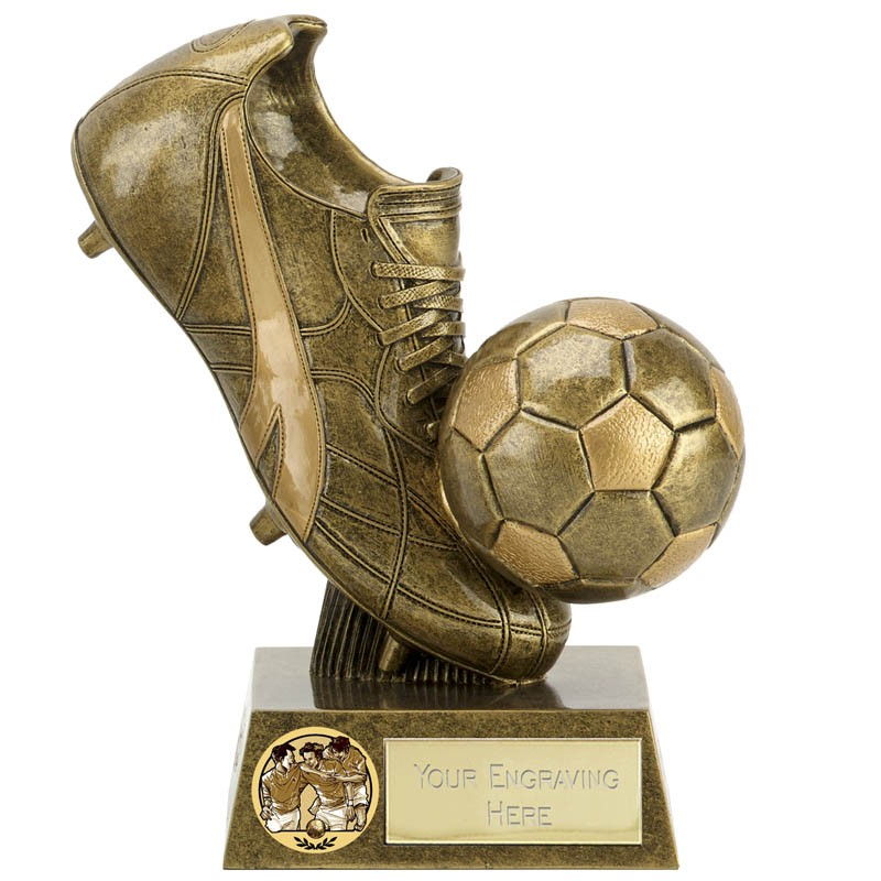 Presentation Football Boot & Ball
