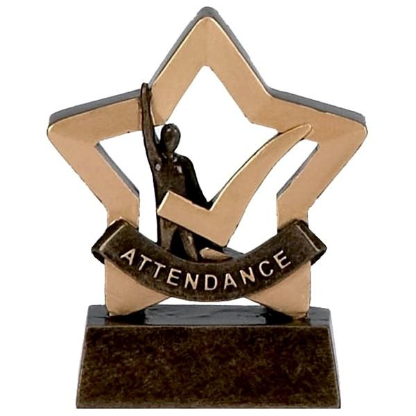 Mini Stars Attendance Trophy