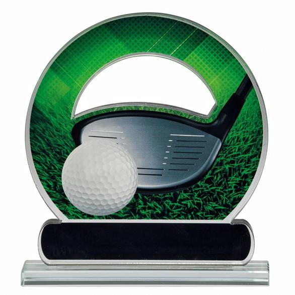 Avenger Golf Acrylic Award