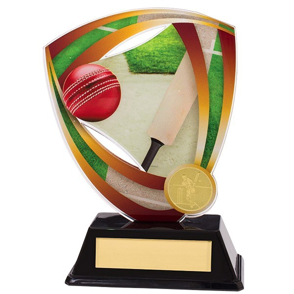 Fortress Cricket Acrylic Plaque