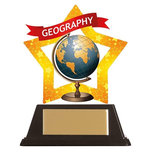 Mini-Star Geography Acrylic Plaque