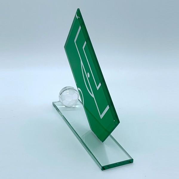 Green Football Pitch Football Plaque