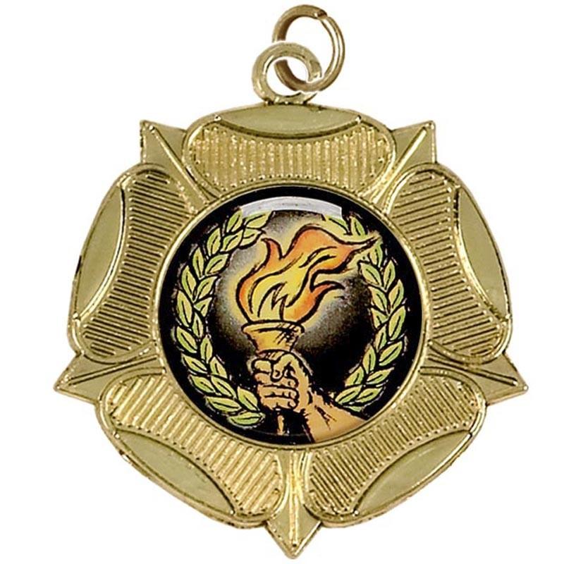 Lux Tudor Rose Medal