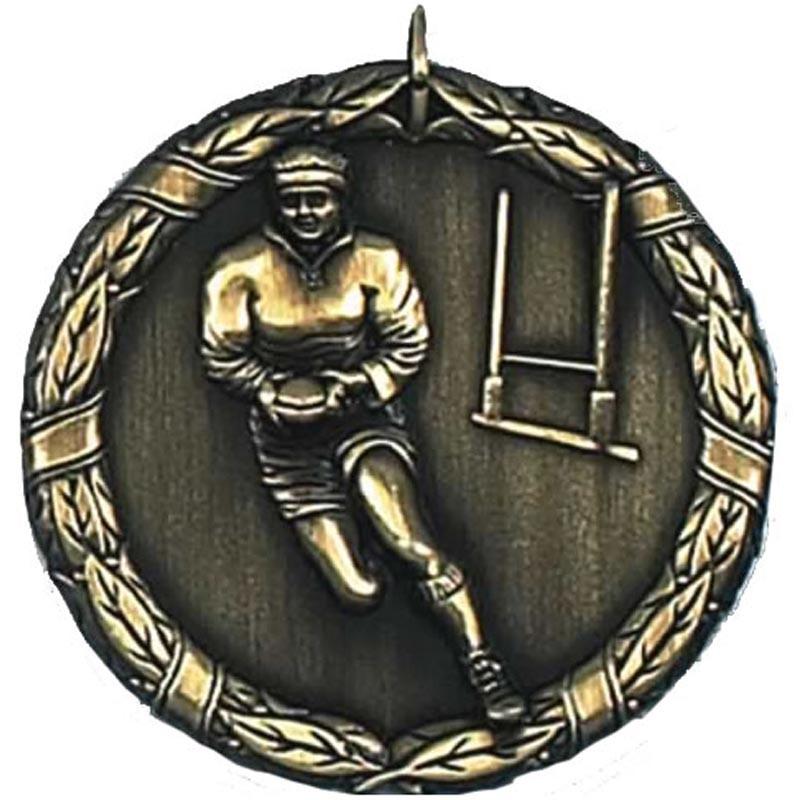 Laurel Rugby Medal
