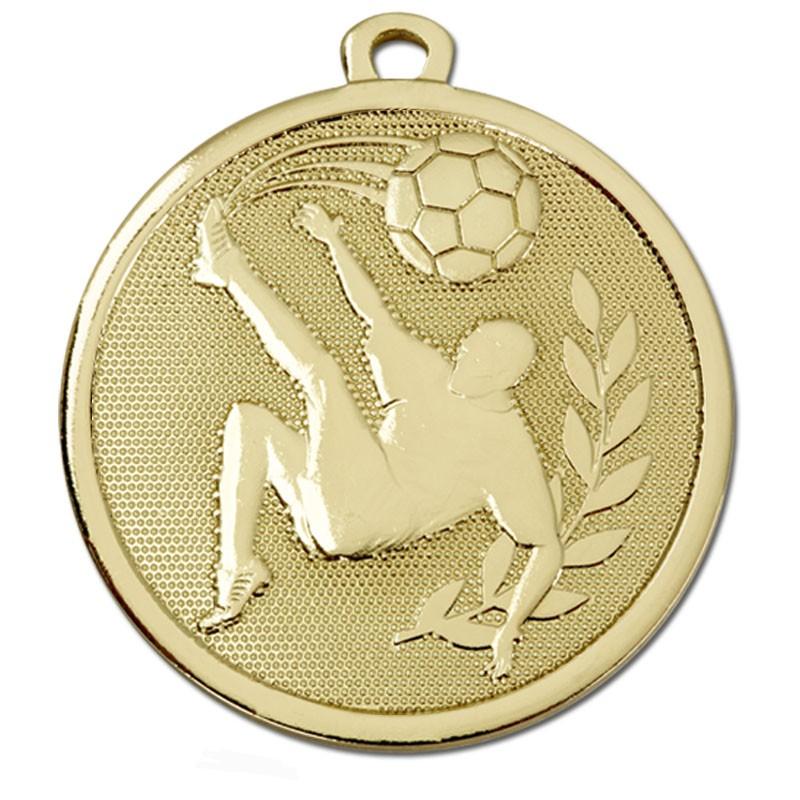 Galaxy Football Kick Medal