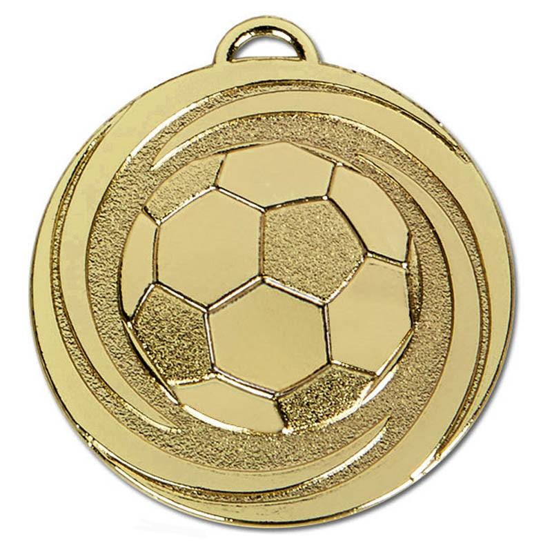 Target Twirl Football Medal