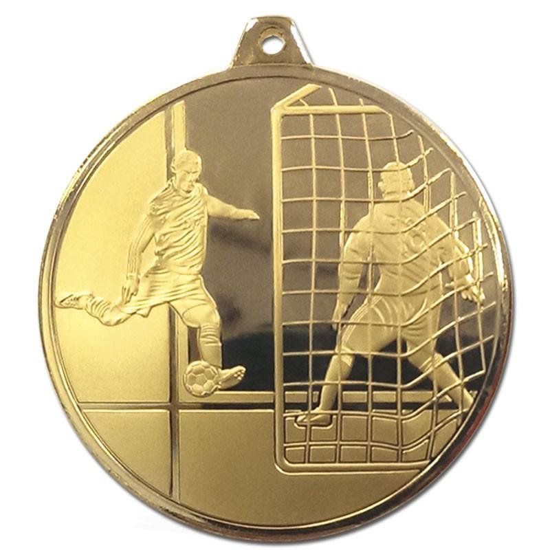 Frosted Glacier Footballer Medal