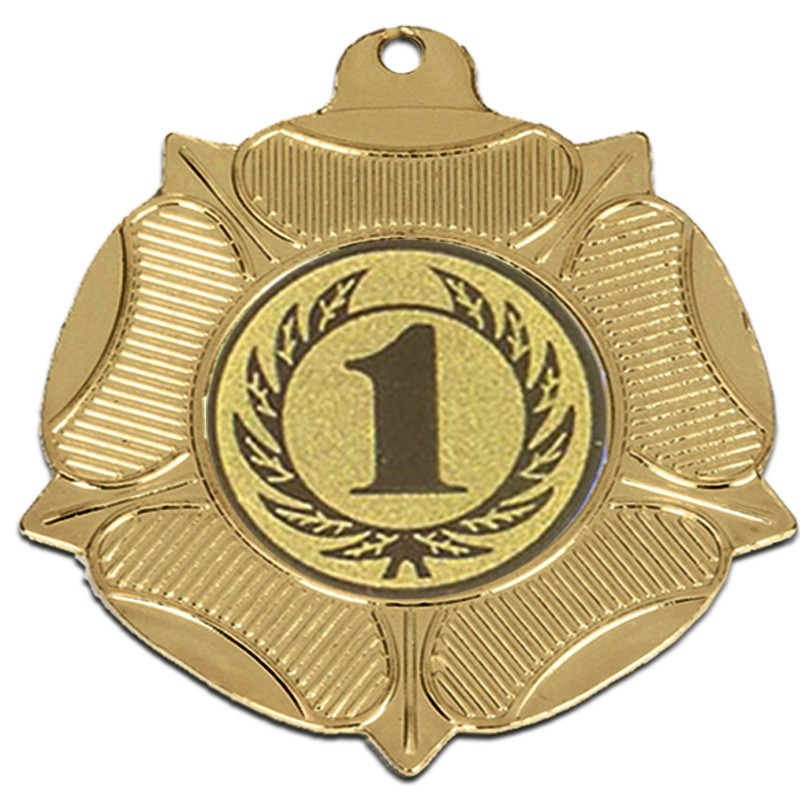 VF50 Tudor Rose Medal