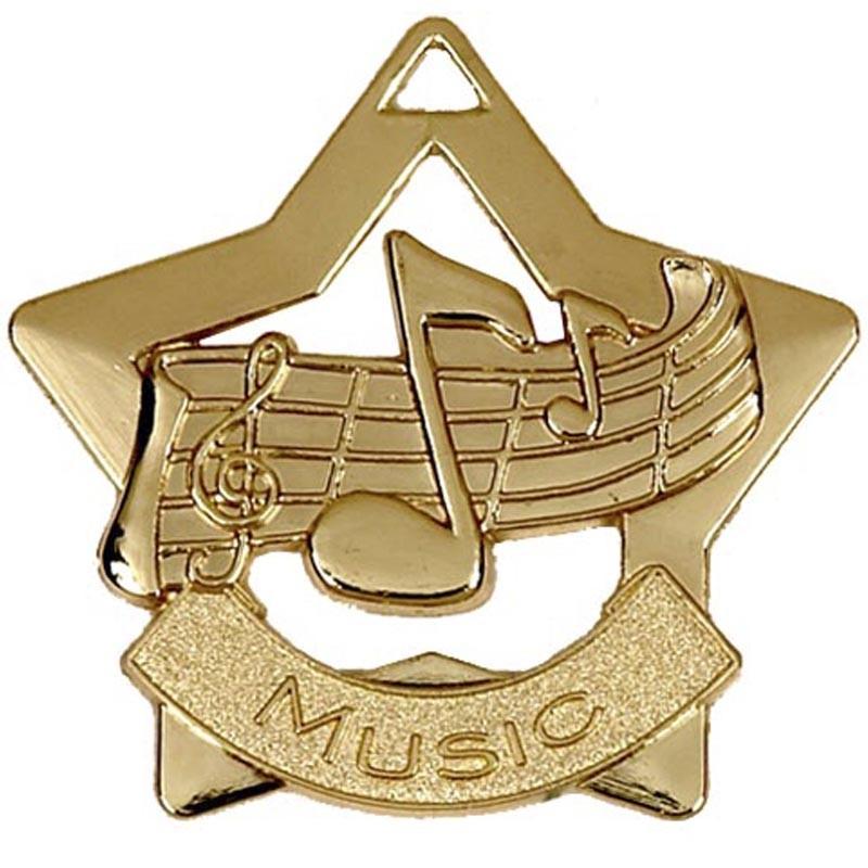 Mini Star Music Medal