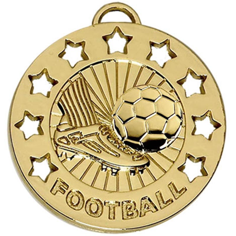 Spectrum 40 Football Medal