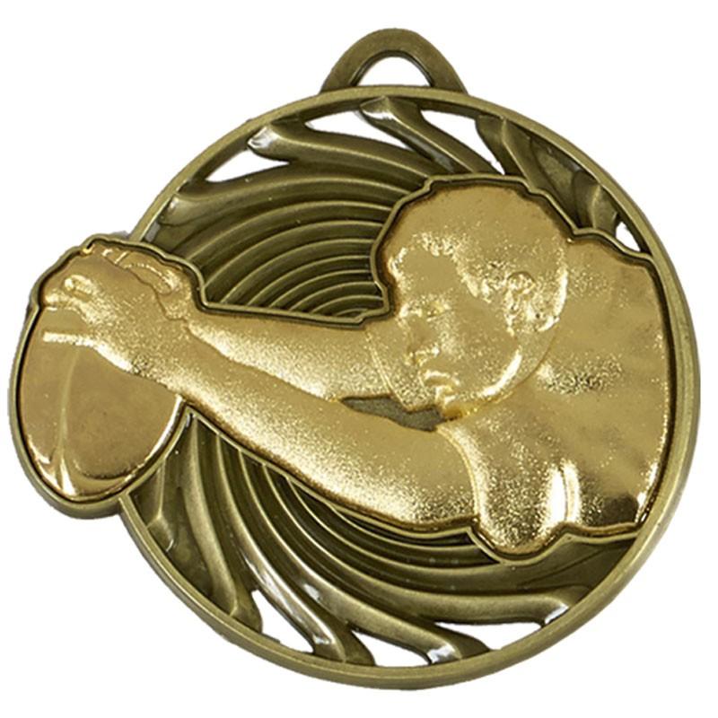 Vortex Rugby Medal