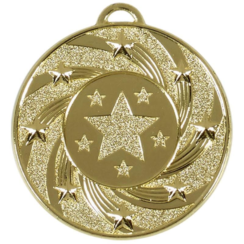 Target 50 Star Medal