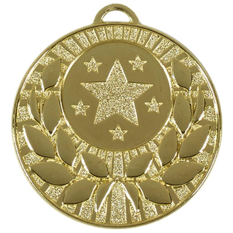 Target 50 Wreath Medal