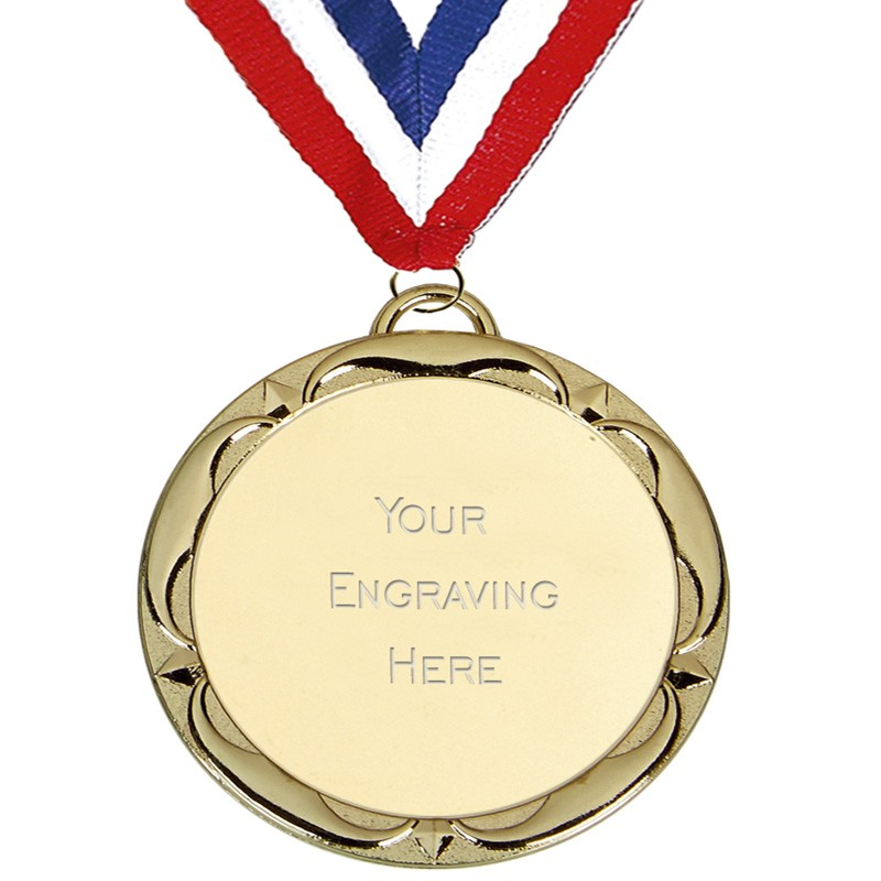 Target Tudor Rose Medal with