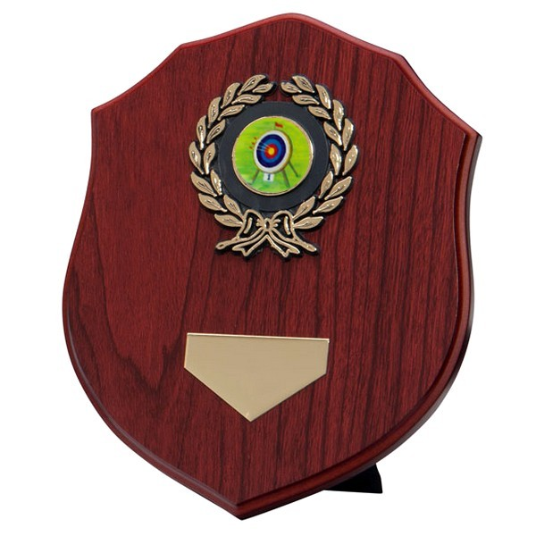 Meath Mahogany Plaque with Archery Insert