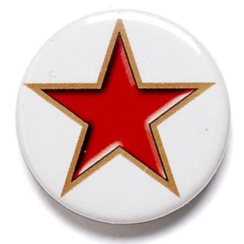 Star Button Badge