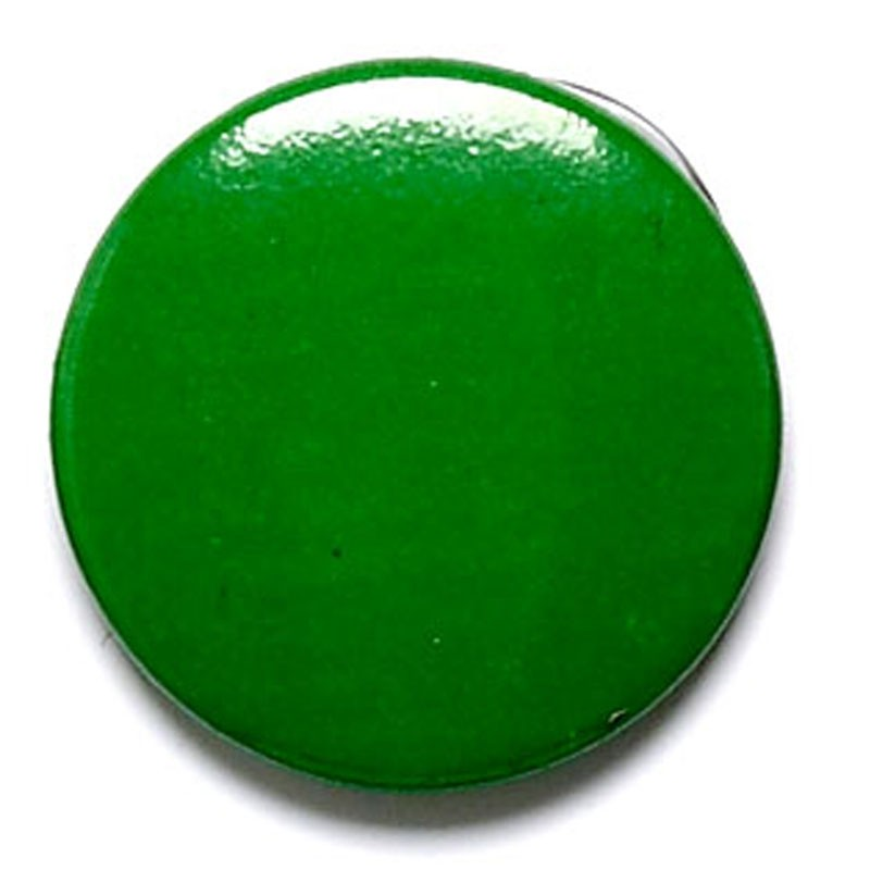 Green Button Badge