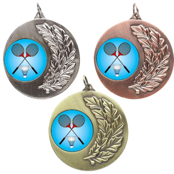 Badminton Laurel Medals