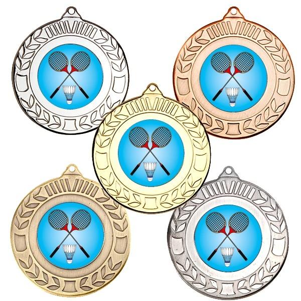 Badminton Wreath Medals