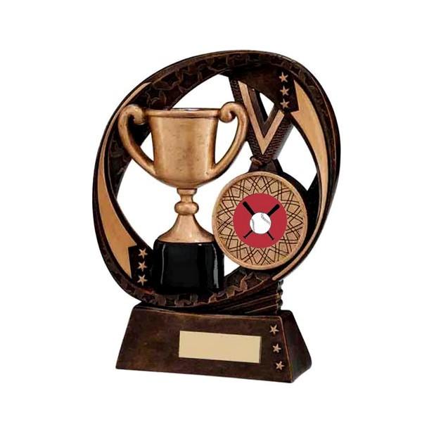 Typhoon Achievement Award with Baseball Insert