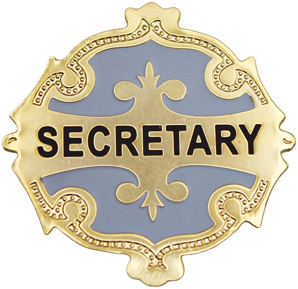 Treasurer Badge