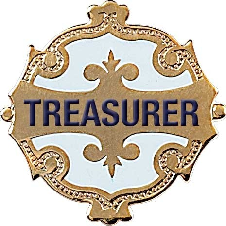 Treasurer Badge