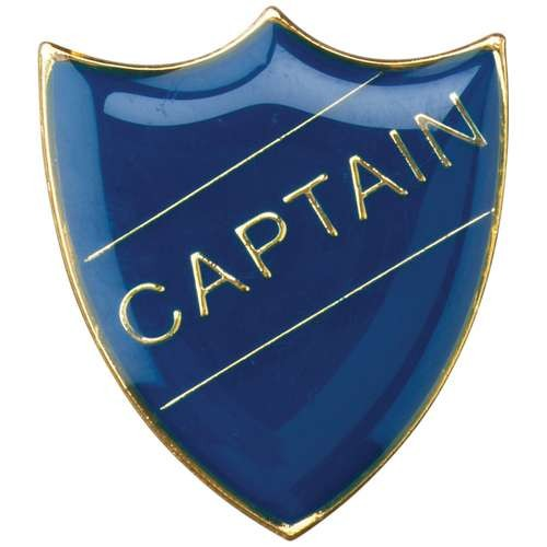 School Shield Badge (Captain)