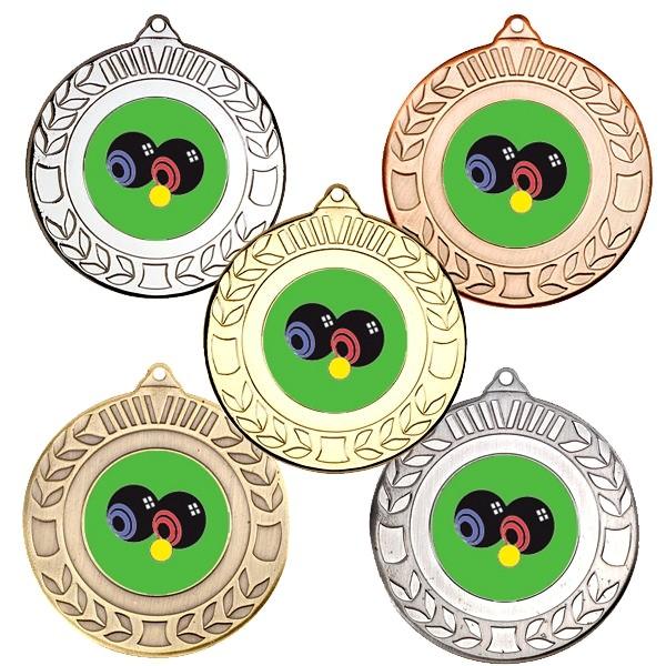 Bowls Wreath Medals
