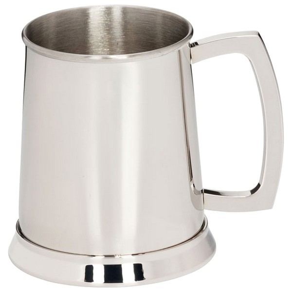 1/2 Pint Pewter Tankard