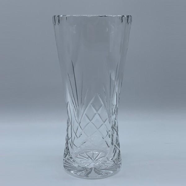 Panelled Crystal Vase