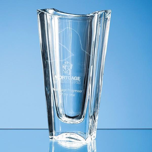 Crystalite Okinawa Tapered Vase