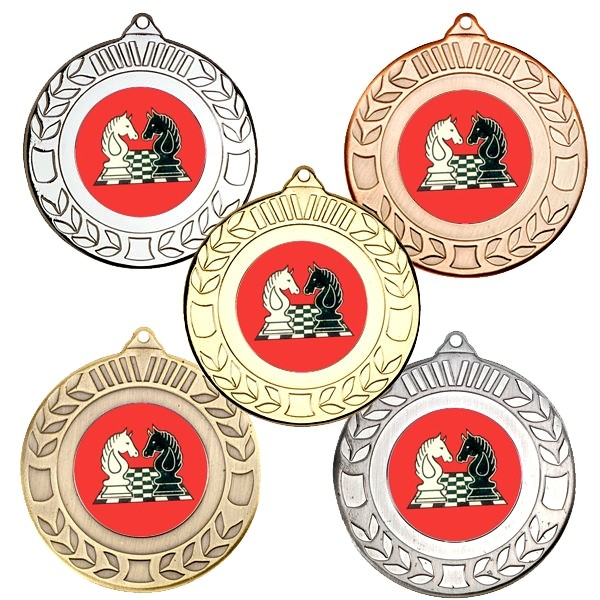 Chess Wreath Medals