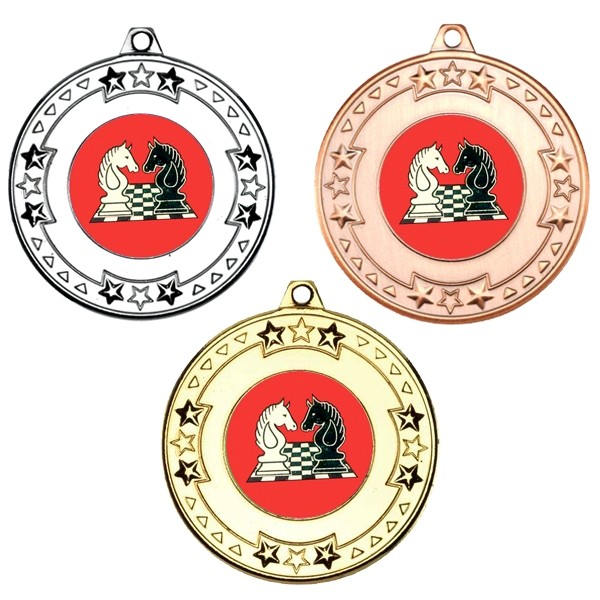Chess Tri Star Medals