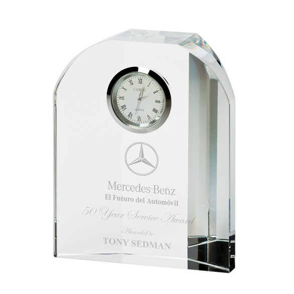 Prestige Crystal Clock