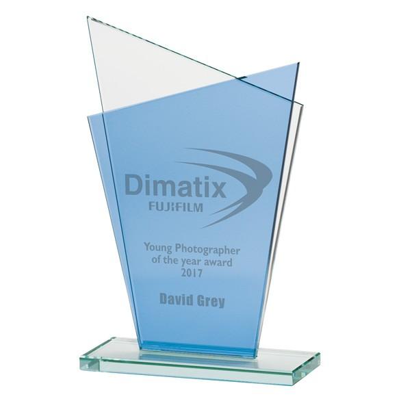 Jade Prestige Crystal Award