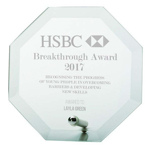 Jade Enterprise Crystal Award