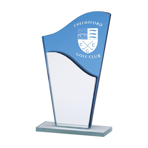 Ocean Force Mirror Plaque Award